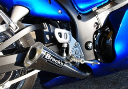 Brock's Performance Performance Package Busa (99-00) Polished System
