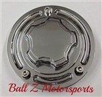 Hayabusa GSXR 600/750/1000 Custom Chrome 3D Stepped Fuel Lid/Gas Cap