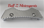 Hayabusa Smooth Chrome Front Center Tank Pad w/Ball Cut Edges