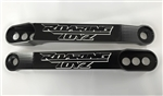 Black/Silver Contrast Kawasaki ZX-14 & ZX-14R 3 Hole Adjustable Lowering Links