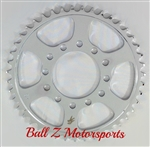 Chrome Steel 43 th tooth Rear Sprocket for Performance Machine Wheels