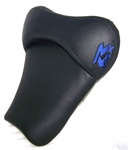 """New Image"" Black & Blue GSXR 600/750/1000 Custom Shaped & Covered Front Seat"