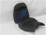 Custom Hayabusa Black/Blue Front & Rear Seats