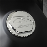 Custom 08+ Hayabusa GSXR 600/750/1000 Chrome Engraved Gas Cap Fuel Lid