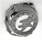 Hayabusa Custom Chrome See Through Clear 3D Ball Clutch Cover