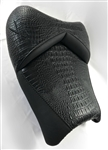 Hayabusa Custom Shaped V Cut Black Gator Front Seat w/Black Embroidering
