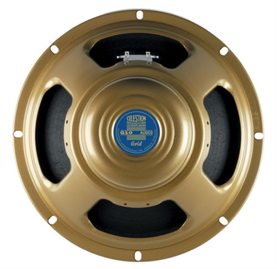"Celestion G10 GOLD.15 10"" Alnico Guitar Speaker"