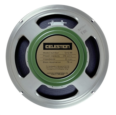 "Celestion G12M Greenback.16 12"" guitar speaker"