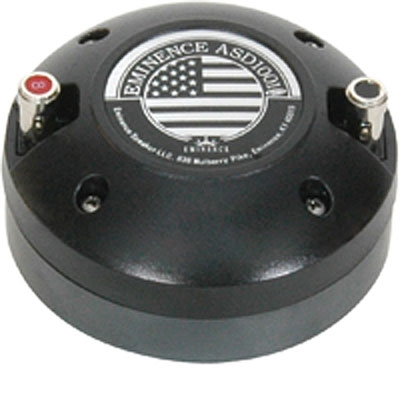 "Eminence ASD-1001S, 1"" Screw-On Eminence Driver"