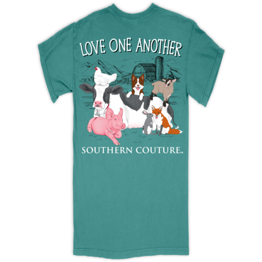 SC Comfort Love One Another - Seafoam