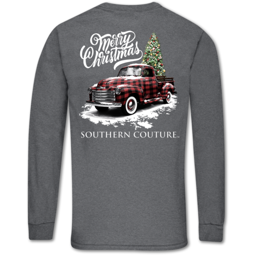 SC Classic Buffalo Plaid Truck LS-Graphite Heather