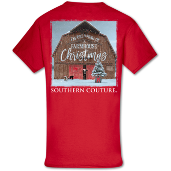 SC Classic Farmhouse Christmas-Red