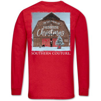 SC Classic Farmhouse Christmas on LS-Red