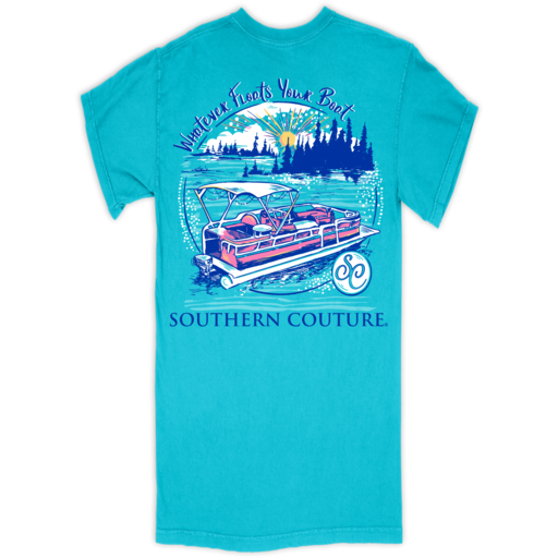 SC Comfort Floats Your Boat-Lagoon Blue