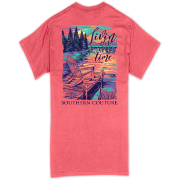SC Classic Livin on Lake Time-Coral Silk