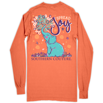 SC Comfort Spread Joy on Long Sleeve-Melon