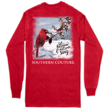 SC Classic Heaven & Nature on Long Sleeve-Red