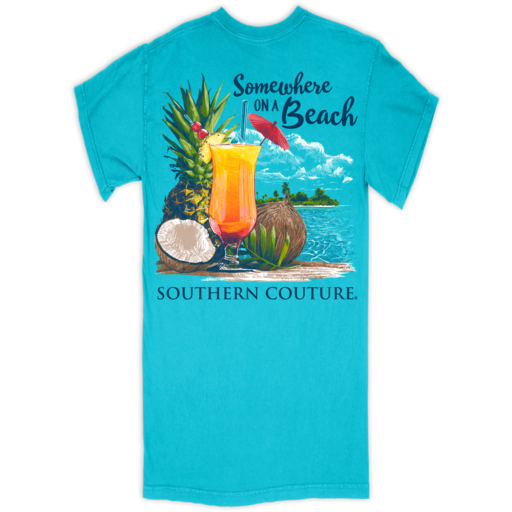 SC Comfort Somewhere On Beach-Lagoon Blue