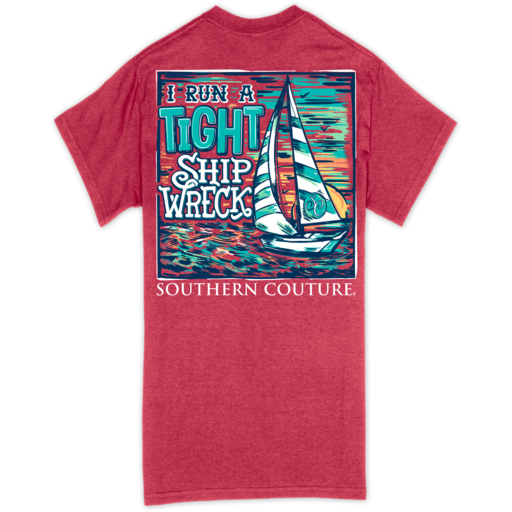 SC Classic Tight Ship Wreck-Heather Red