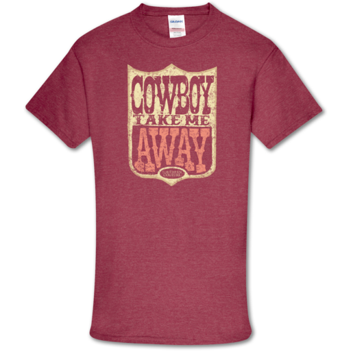 SC Soft Take Me Away front print-Heather Cardinal