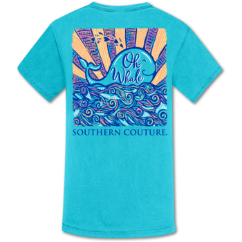 SC Comfort Oh Whale-Lagoon Blue