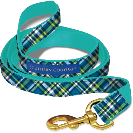 SC Dog Leash Plaid