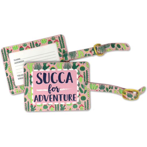 SC Succa For Adventure Luggage Tag
