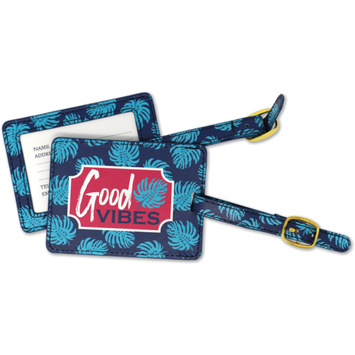 SC Good Vibes Luggage Tag
