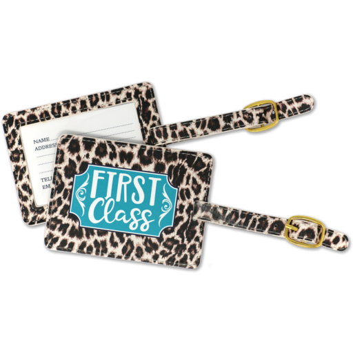 SC First Class Luggage Tag