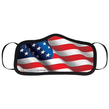 SC Personal Protective Mask-American Flag