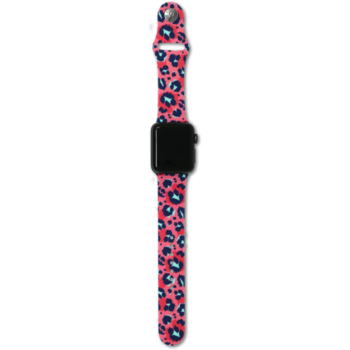 SC Coral Leopard Smart Watch Band