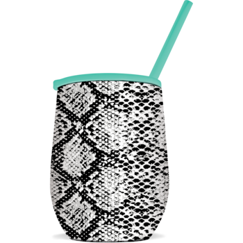 SC Tumbler-The Winee-B/W Snakeskin