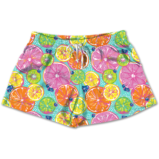SC Lounge Shorts-Citrus
