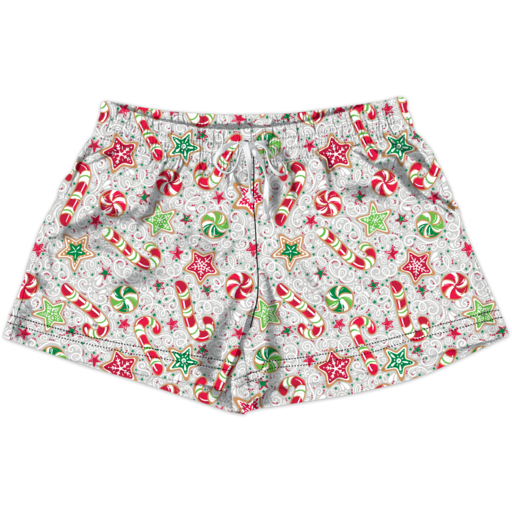 SC Lounge Shorts-Christmas Candy