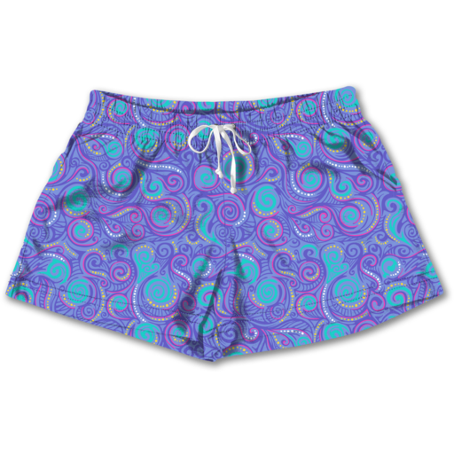 SC Lounge Shorts-Swirls
