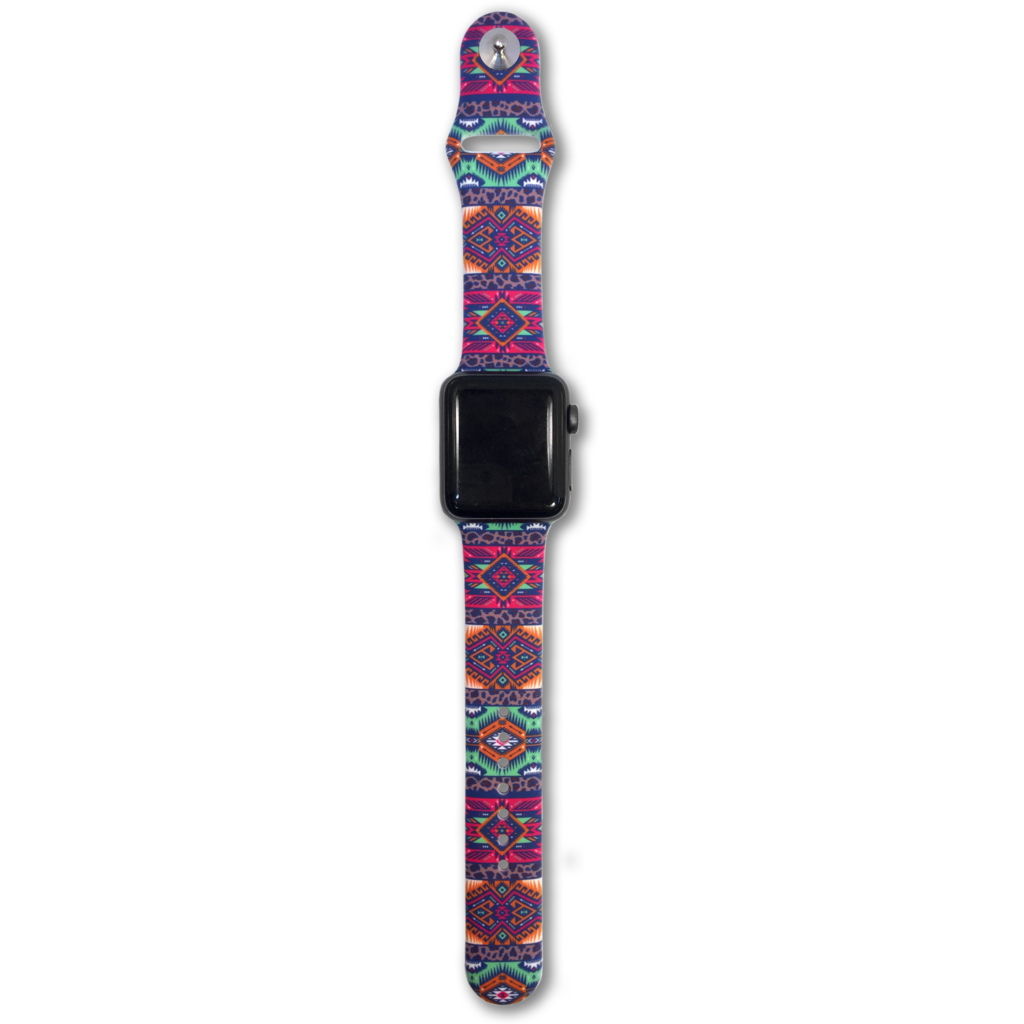 SC Leopard Aztec Smart Watch Band