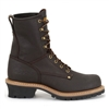 Carolina Mens Briar Brown 8-Inch Logger Work Boot