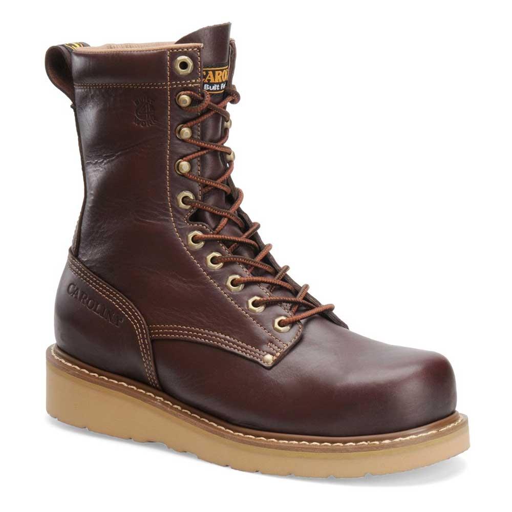 Carolina Boots 8 Inch Broad Toe Wedge Work Boots - CA8049 f20cf22928fd