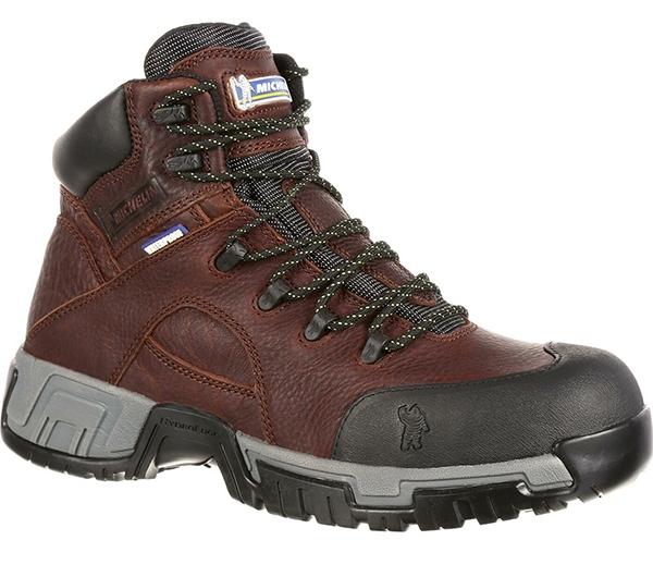 ff0d9cf9ac38b1 Michelin Boots XHY662 HydroEdge Steel Toe Work Boot