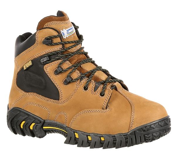 93ef7aa0eef8bd Michelin Boots 6-Inch Steel Toe Metatarsal Boots - XPX763