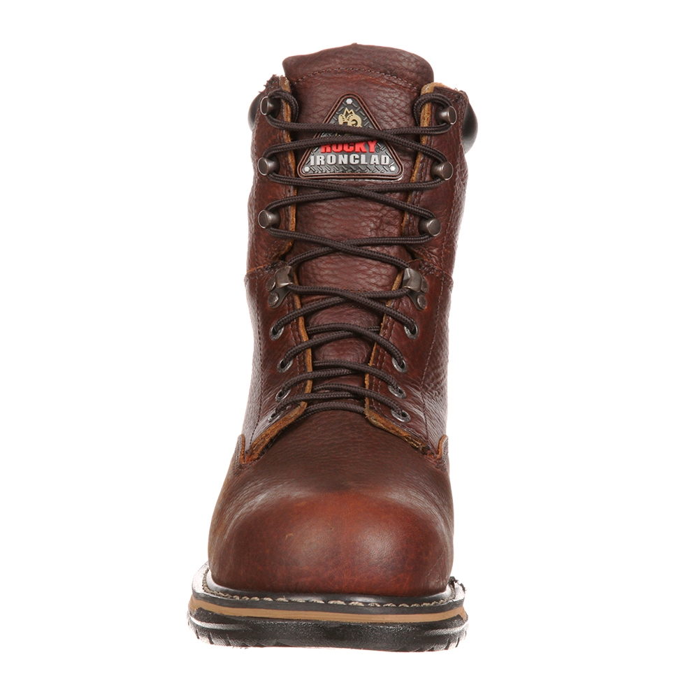 81259ec5d44 Rocky Boots 8-Inch IronClad Steel Toe Work Boots - 6693