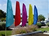 Solid Color Feather Flags