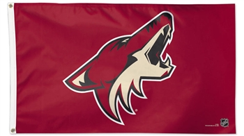 Arizona Coyotes Flag - Deluxe