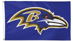 Baltimore Ravens Flag - Deluxe