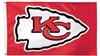 Kansas City Chiefs Flag - Deluxe