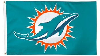 Miami Dolphins Flag - Deluxe