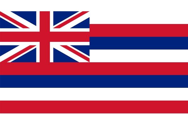 Hawaii State Flag Nylon