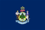 Maine State Flag