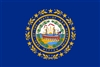 New Hampshire State Flag Monsoon Heavy Duty