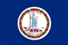 Virginia State Flag Monsoon Heavy Duty